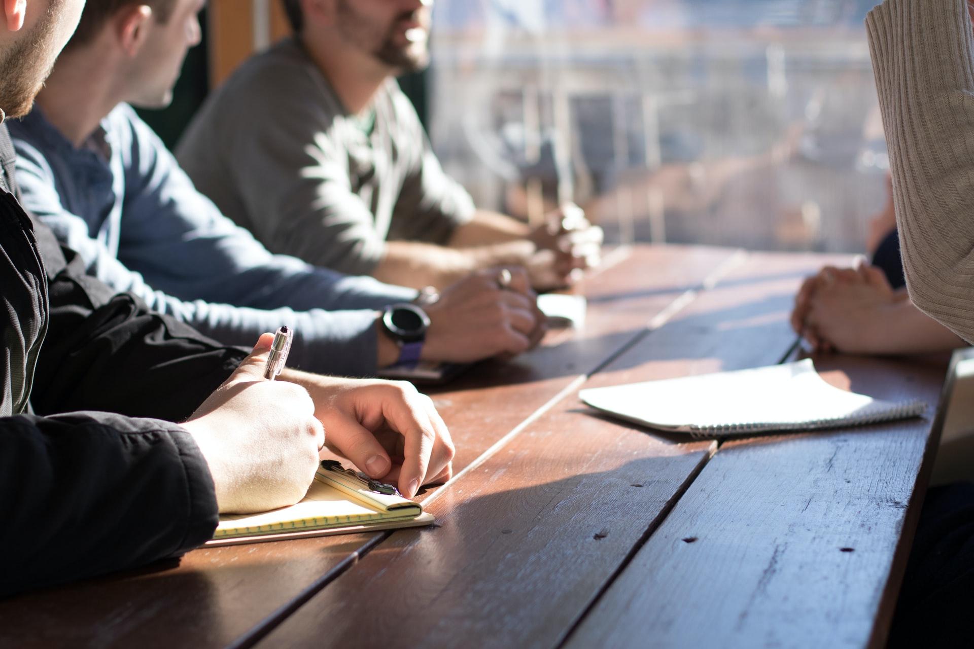 reunião mesa