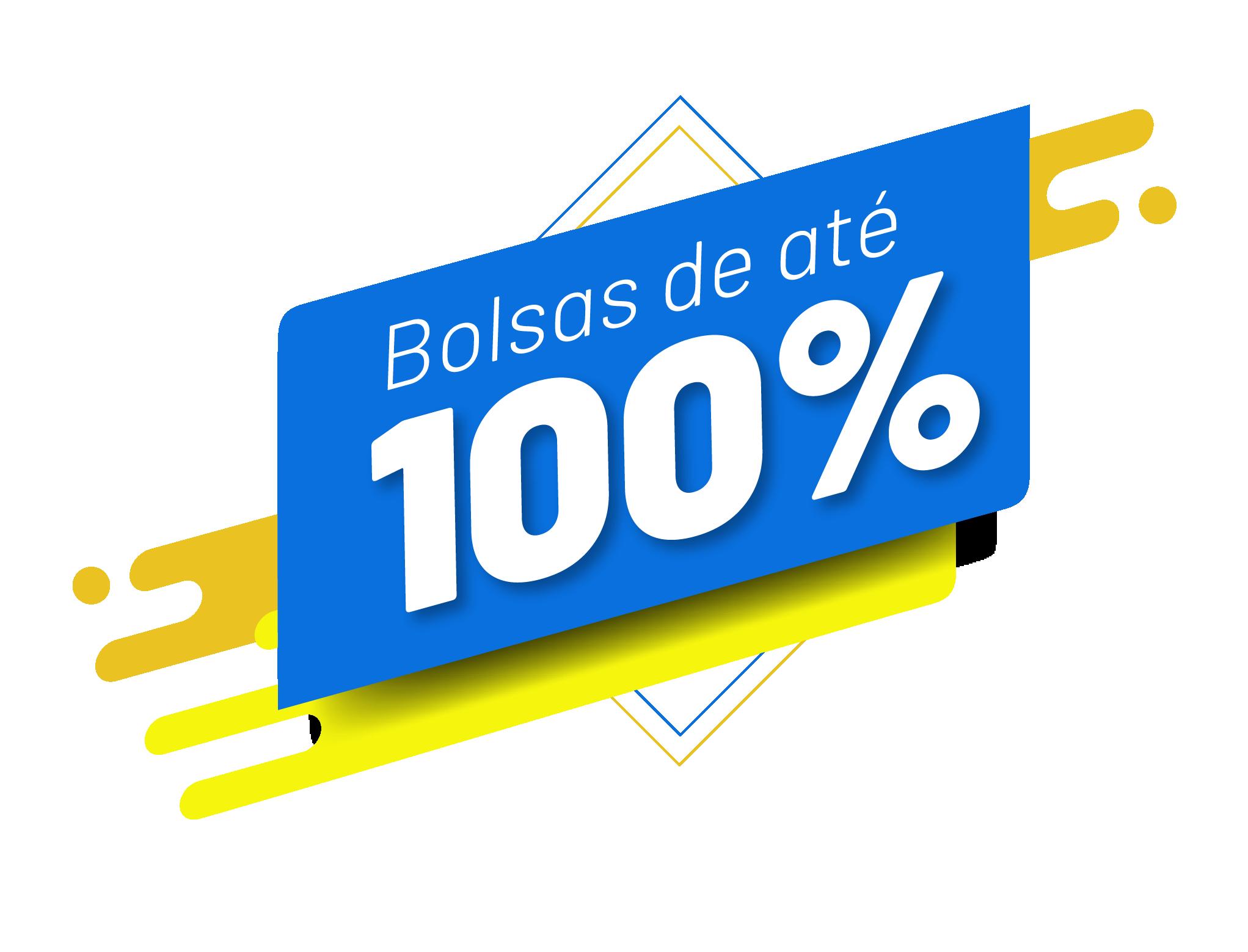 Bolsas de até 100%
